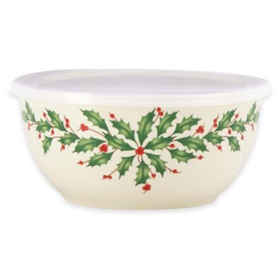 Lenox® Holiday™ Serve and Store Bowl with Lid