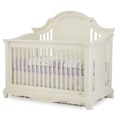 Bassettbaby® PREMIER Addison 4-in-1 Convertible Crib in Pearl White