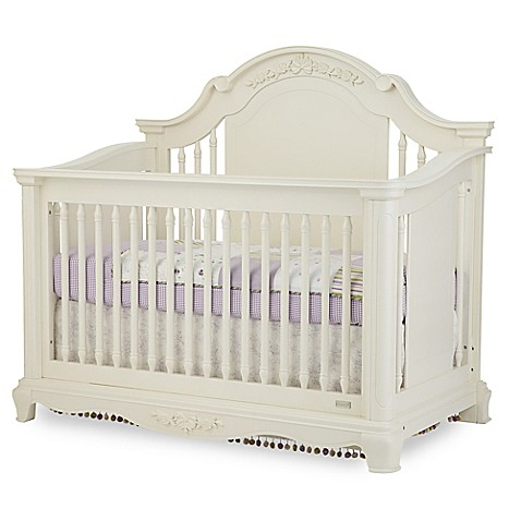 Bassettbaby 174 Premier Addison 4 In 1 Convertible Crib In Pearl White Www Buybuybaby Com