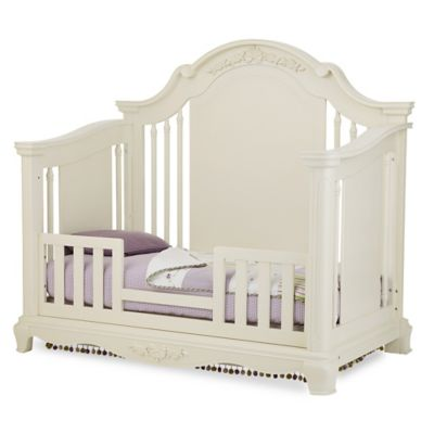 Bassettbaby® PREMIER Addison Toddler Guard Rail in Pearl White