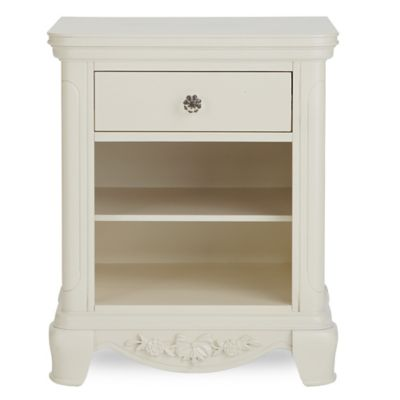 Bassettbaby® PREMIER Addison Nightstand in Pearl White