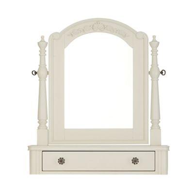Bassettbaby® PREMIER Addison Tilt Mirror in Pearl White