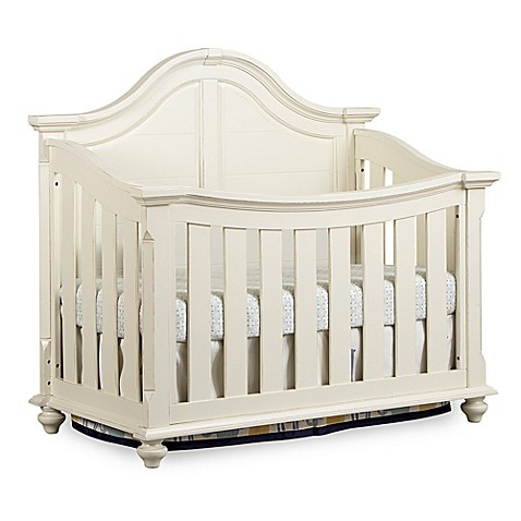Bassettbaby 174 Premier Benbrooke 4 In 1 Convertible Crib In Cottage Cream Www Bedbathandbeyond Com