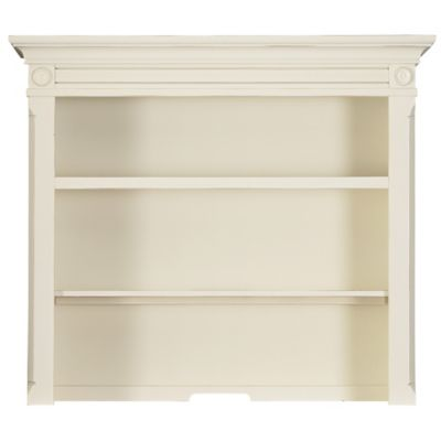 Bassettbaby® PREMIER Benbrooke Hutch and Bookcase in Cottage Cream