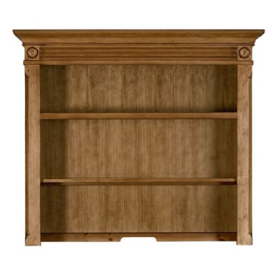 Bassettbaby® PREMIER Benbrooke Hutch and Bookcase in Vintage Pine