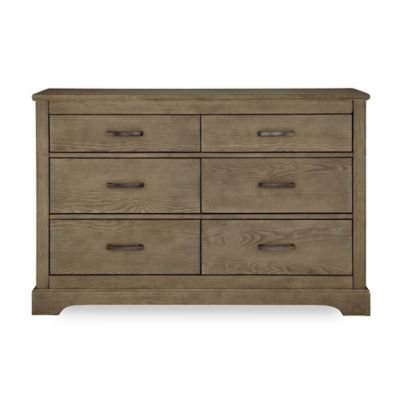 HGTV HOME™ Baby Grayson 6-Drawer Double Dresser in Dusk
