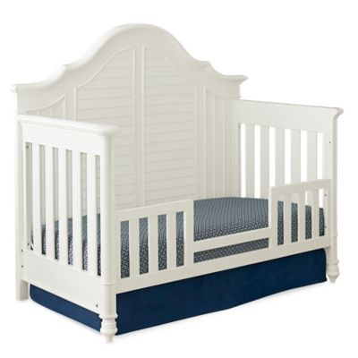 Bassettbaby PREMIER® Nantucket Toddler Guard Rail in Cotton White