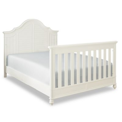 Bassettbaby PREMIER® Nantucket Full Size Bed Rails in Cotton White