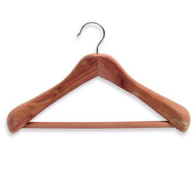 Cedar Fresh Deluxe Coat Hanger