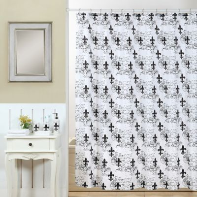 Ceramic White Shower Curtains