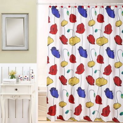 18-Piece Poppies Bath Bundle Set