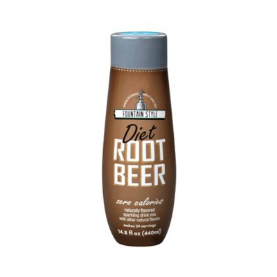 Sodastream® Fountain Style Diet Root Beer Flavored Sparkling Drink Mix