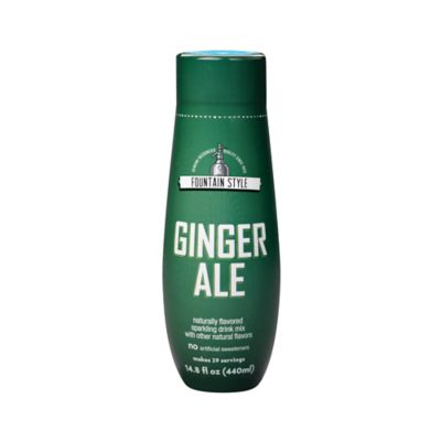 SodaStream® Fountain Style Ginger Ale Sparkling Drink Mix