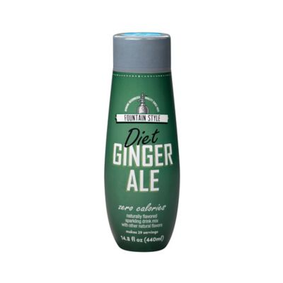 SodaStream® Fountain Style Diet Ginger Ale Sparkling Drink Mix