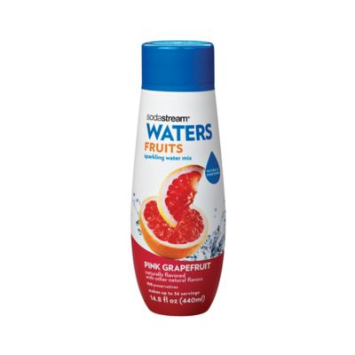 Sodastream® Waters Fruits Pink Grapefruit Flavored Sparkling Drink Mix