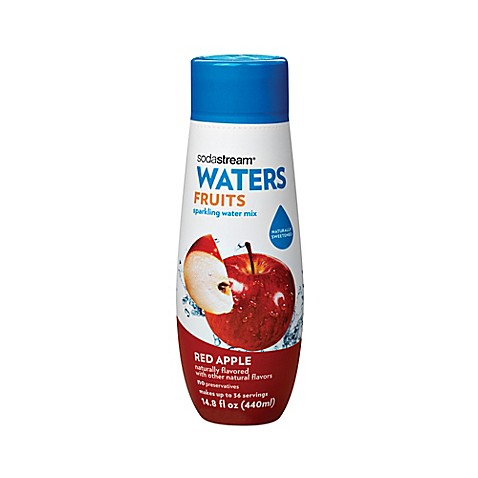 Buy sodastream water fruits red apple flavored sparkling for Sparkling water mixed drinks