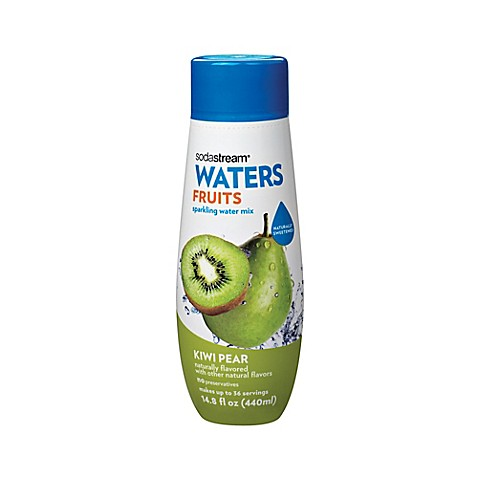 Sodastream® Water Fruits Kiwi Pear Flavored Sparkling Drink Mix - www ...