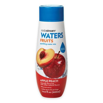 Sodastream® Water Fruits Apple Peach Flavored Sparkling Drink Mix