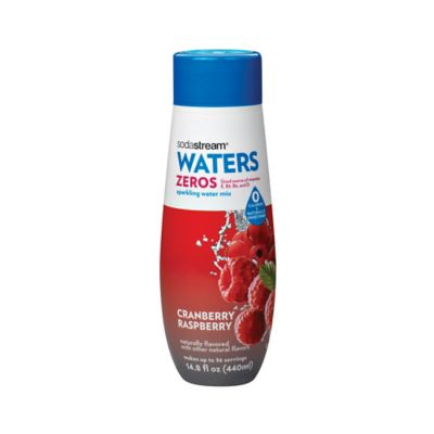 Sodastream® Waters Zeros Cranberry Raspberry Flavored Sparkling Drink Mix