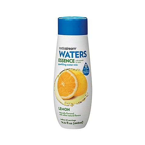 Sodastream 174 Waters Essence Lemon Sparkling Drink Mix Bed