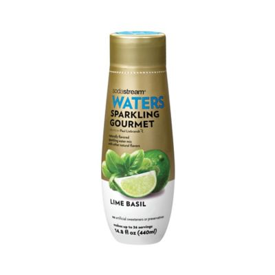 Sodastream® Waters Sparkling Gourmet Lime Basil Flavored Drink Mix