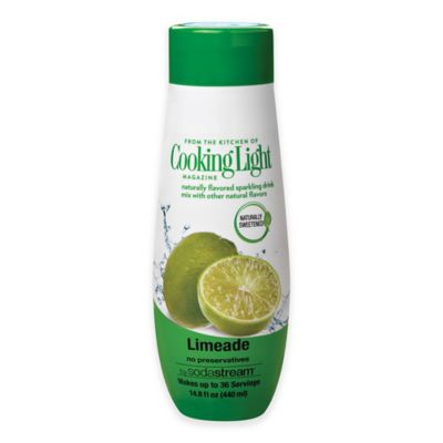 SodaStream® Cooking Light® Limeade Sparkling Drink Mix