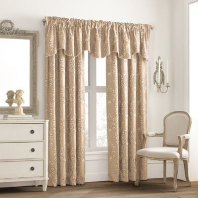Wine Curtain Valance