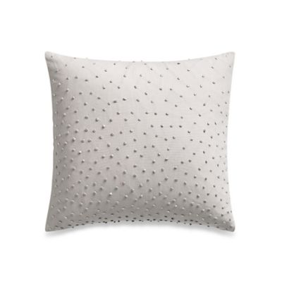 Barbara Barry® Sequins Shimmer Oblong Throw Pillow in Silver