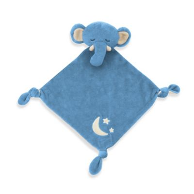 Sleepytime Organic Cotton Elephant Lovie in Blue