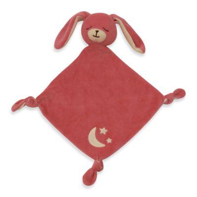 Sleepytime Organic Cotton Bunny Lovie in Pink