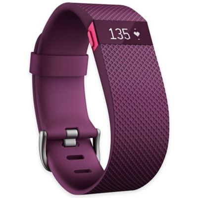 Fitbit Charge HR Large Wireless Heart Rate and Activity Wristband in Plum