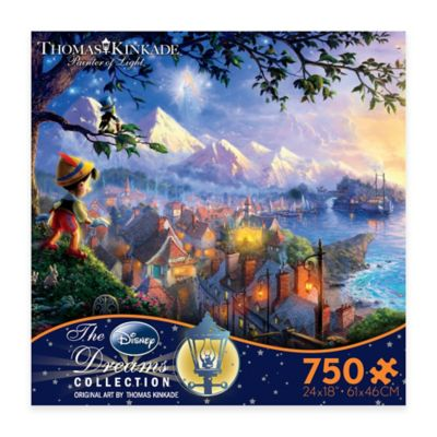 Thomas Kinkade Disney® Dreams 750-Piece Pinocchio Wishes Upon a Star Puzzle