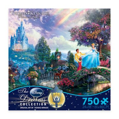 Thomas Kinkade Disney® Dreams 750-Piece Cinderella Wishes Upon a Dream Puzzle