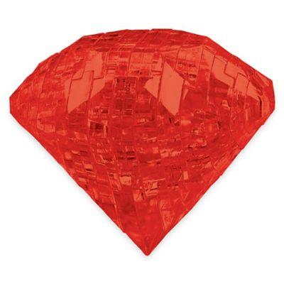 Activity > 41-Piece 3D Ruby Gem Crystal Puzzle