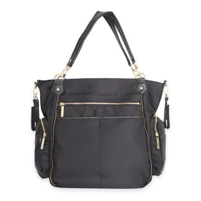 Olivia + Joy Portia Baby Bag in Black