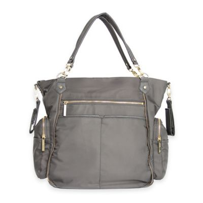 Olivia + Joy Portia Baby Bag in Graphite