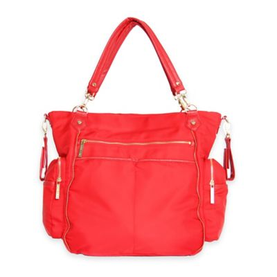 Olivia + Joy Portia Baby Bag in Red