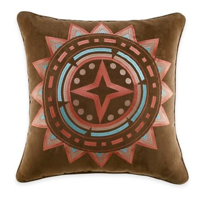Croscill® Ventura Square Throw Pillow in Multi