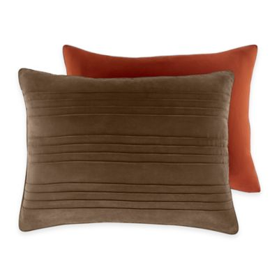 Croscill® Ventura Standard Pillow Sham in Chocolate