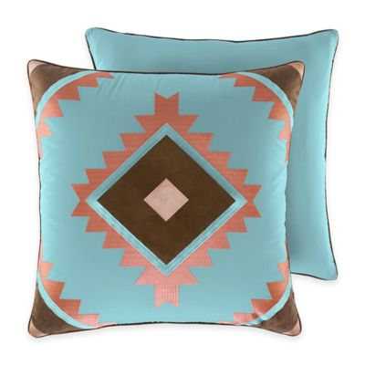 Croscill® Ventura European Pillow Sham in Teal