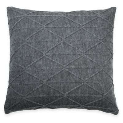 Slate Grey Throw Pillows