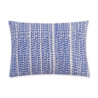 Kas® Gabriel Oblong Throw Pillow in Blue