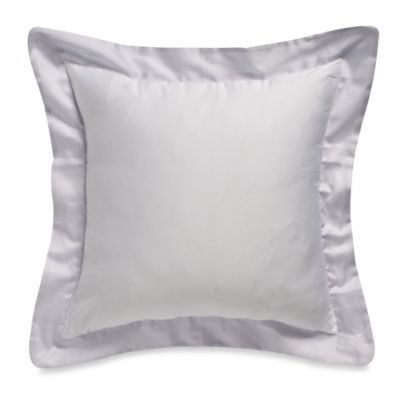 Bellora® Luxury Italian-Made Abri Square Throw Pillow in White