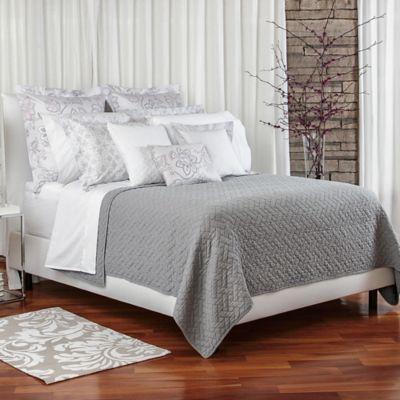 Bellora® Luxury Italian-Made Mia King Coverlet in Grey
