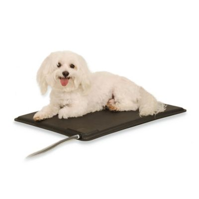 Black Heated Pad