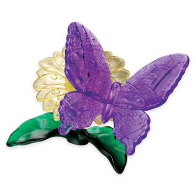 BePuzzled® 38-Piece Butterfly 3D Crystal Puzzle