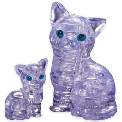 BePuzzled® 49-Piece Cat with Kitten 3D Crystal Puzzle