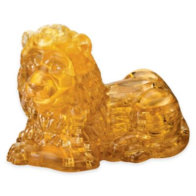 BePuzzled® 96-Piece Lion 3D Crystal Puzzle
