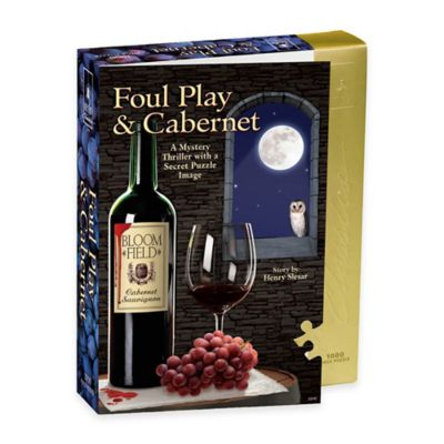 BePuzzled® 1000-Piece Foul Play and Cabernet Murder Mystery Puzzle