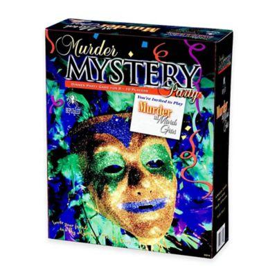 BePuzzled® 1000-Piece Murder at Mardi Gras Murder Mystery Party
